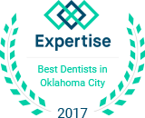2017 best dentists in Oklahoma City logo